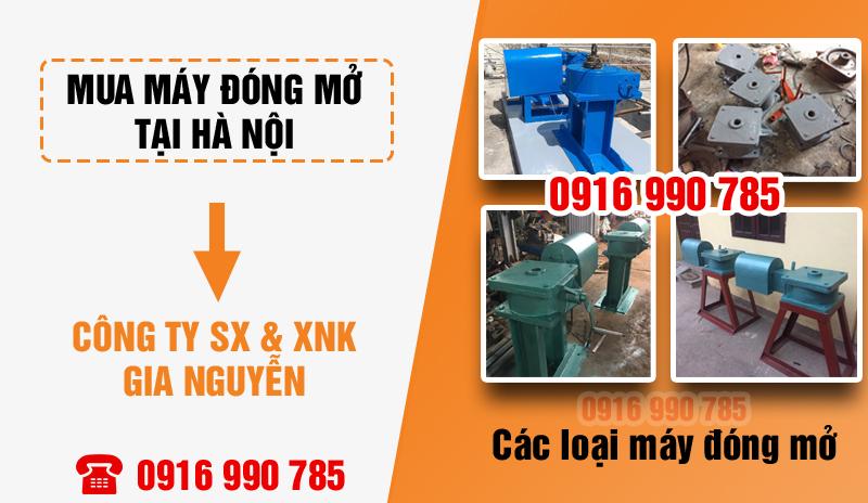 Máy đóng mở tại Hà Nội